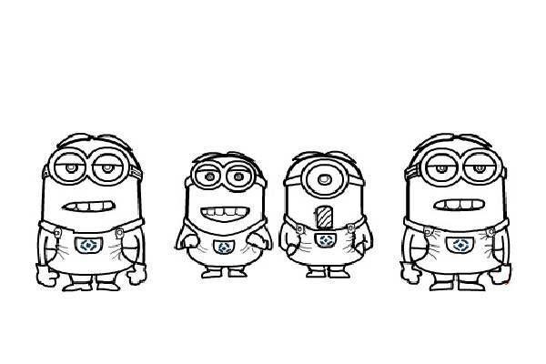 10 Desenhos Dos Minions