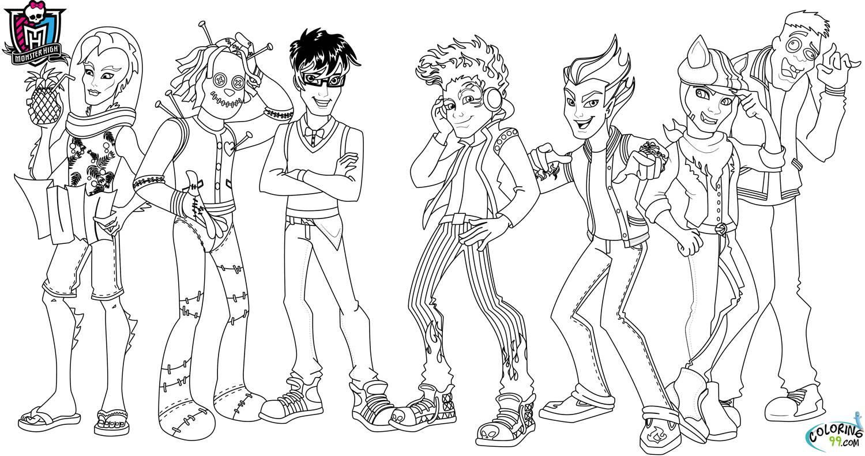 Melhores Desenhos Das Amigas Monster High