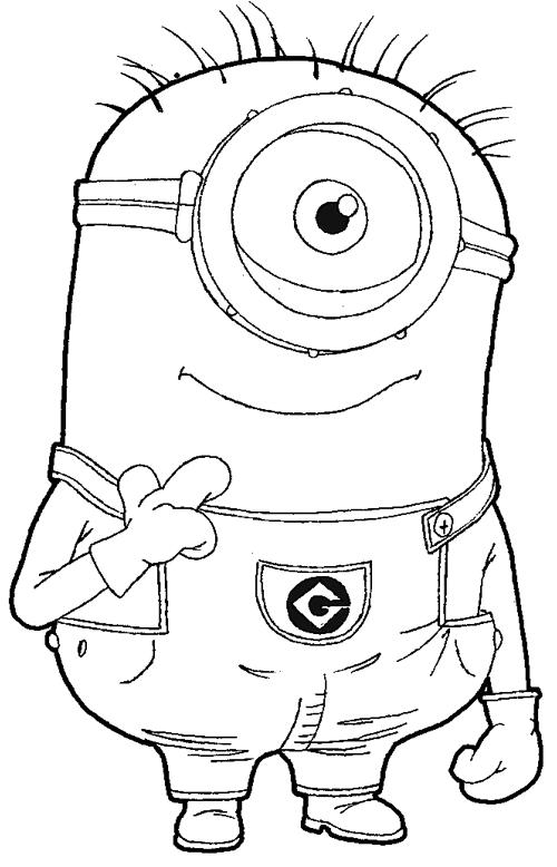 Minions imgenes para dibujar  Imagui
