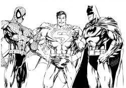 super herói homem aranha desenhos para colorir