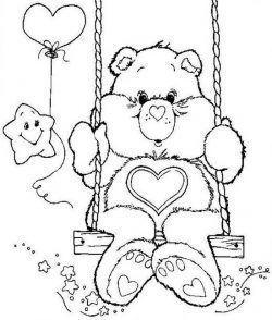 Desenhos Dos Ursinhos Carinhosos Desenhos Para Colorir