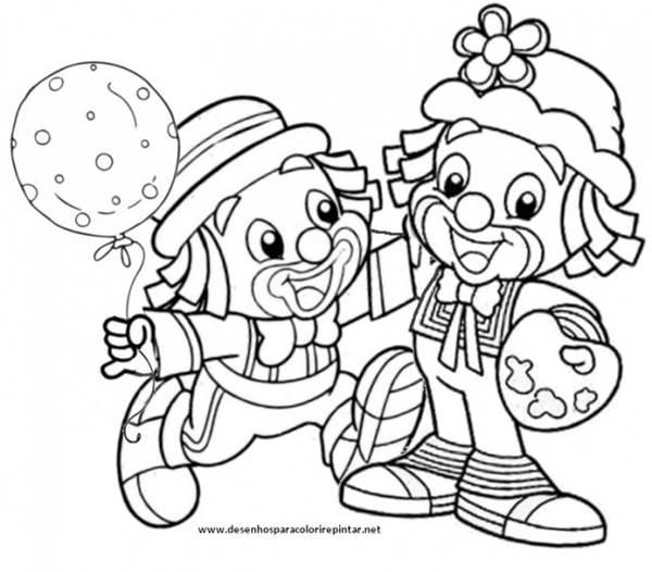 Patati Patata Brincando Desenhos Para Colorir