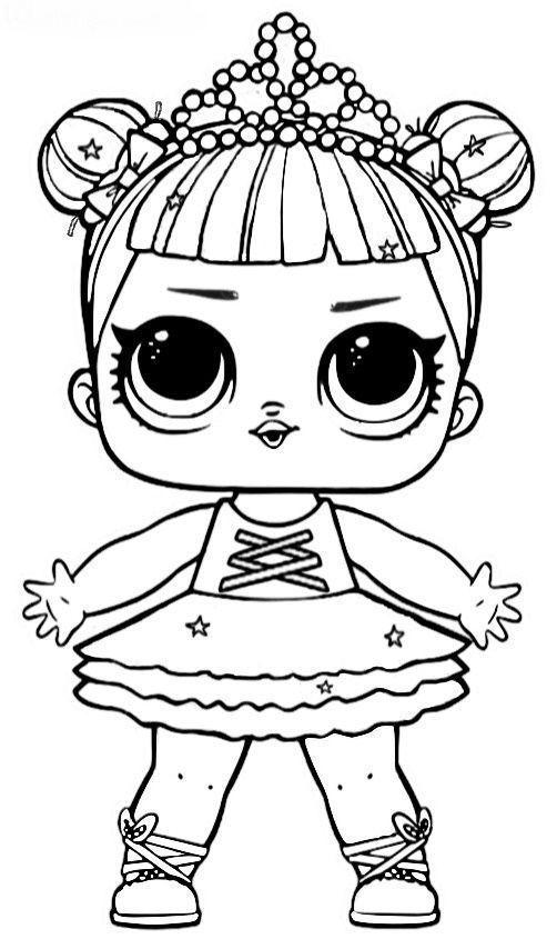 Desenho Da Lol Bailarina Desenhos Para Colorir