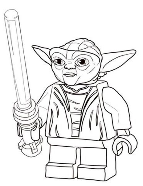 Desenho Do Mestre Yoda Lego Desenhos Para Colorir