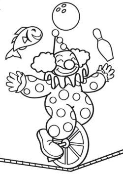 Desenhos Do Circo Desenhos Para Colorir