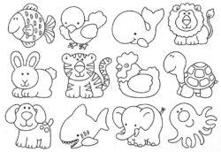 Desenhos De Animais Para Colorir E Imprimir Desenhos Para