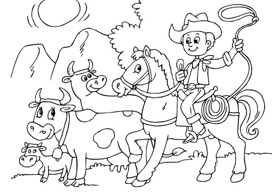 Animais Da Fazenda Para Colorir Desenhos Para Colorir