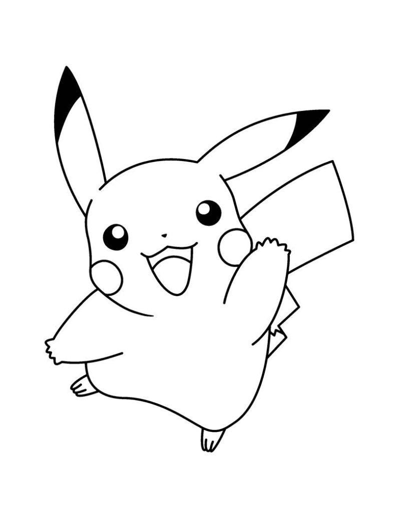 Pokemon Para Colorir Desenhos Para Colorir