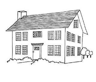 big mansion coloring pages - photo #3