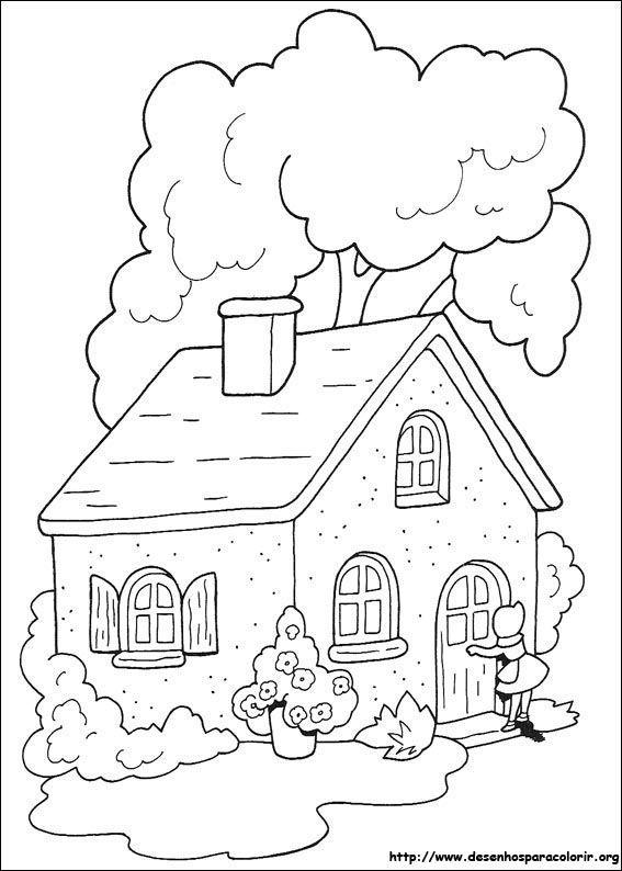 Casa Da Vovo Desenhos Para Colorir