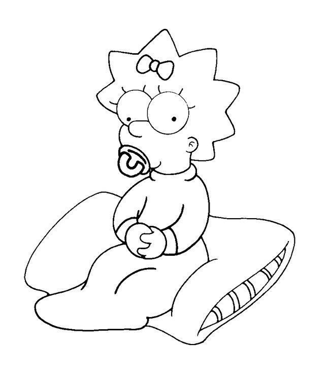 maggie simpson signature by - photo #30