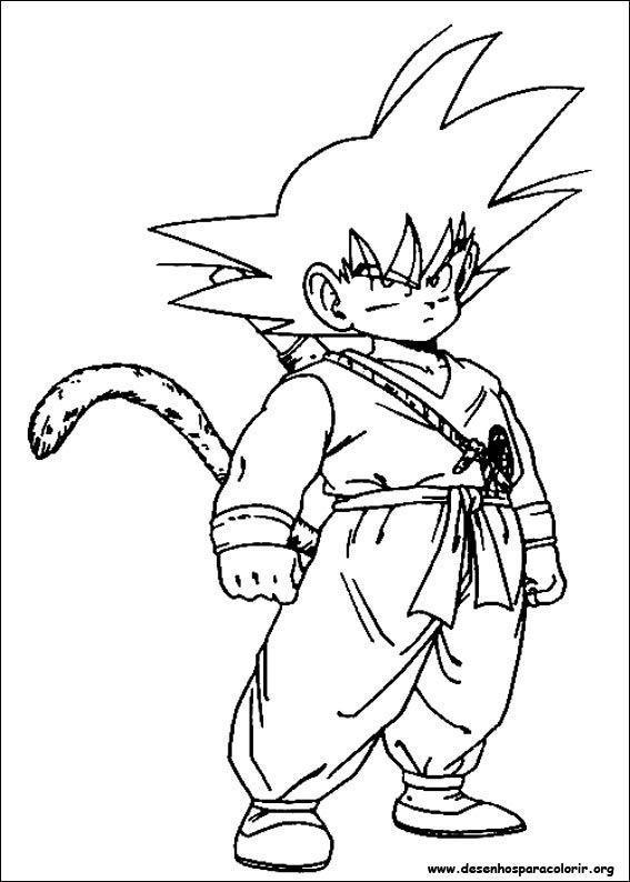 Dragon Ball Z Melhores Desenhos Desenhos Para Colorir
