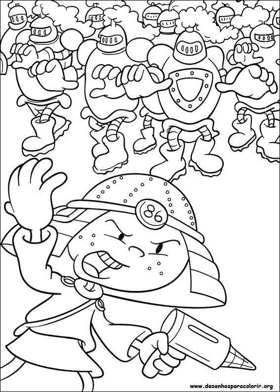 A Turma Do Bairro Numero 2 Desenho Para Colorir