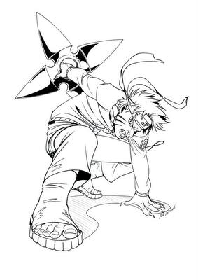 Naruto em combate