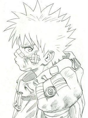 Naruto machucado