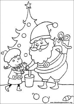 Kerst Minions Kleurplaat Papai Noel Subindo Escadas Desenhos Para Colorir