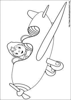 Desenhos De Noddy Desenhos Para Colorir
