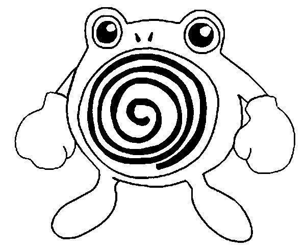 pokemon poliwag coloring pages - photo#10