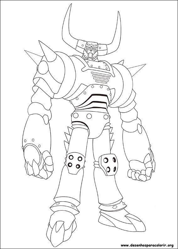 Rob astro boy desenhos para colorir for Disegni zig e sharko