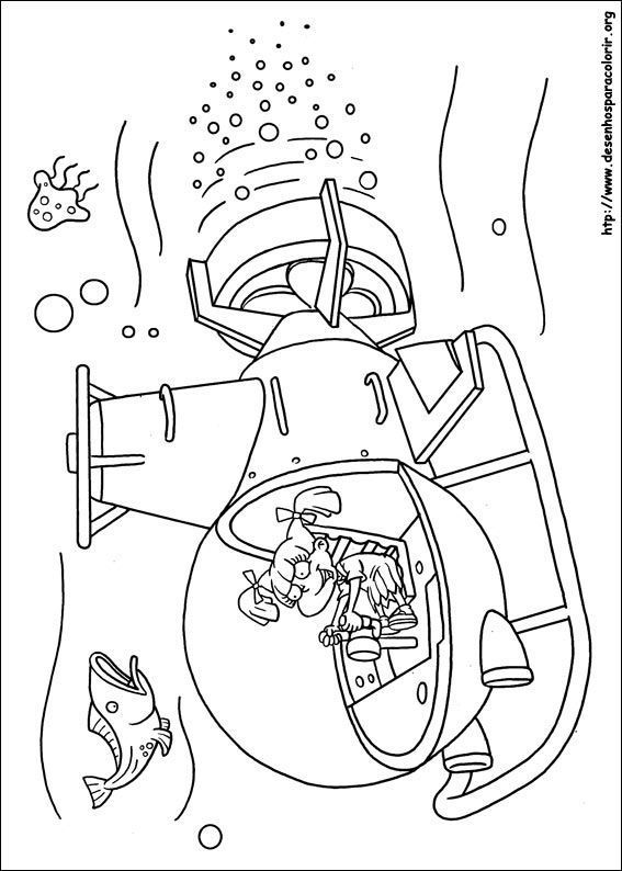 Ol 237 Via No Submarino Rugrats Desenhos Para Colorir