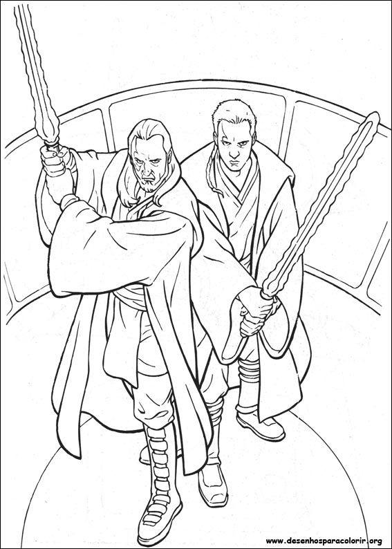 Guerreiros Star Wars Desenhos Para Colorir