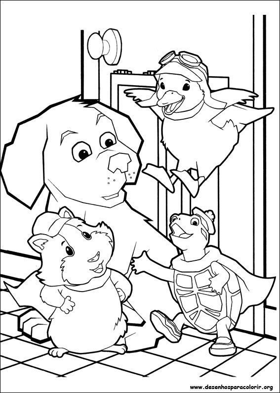 Pet Store Coloring Pages Printable